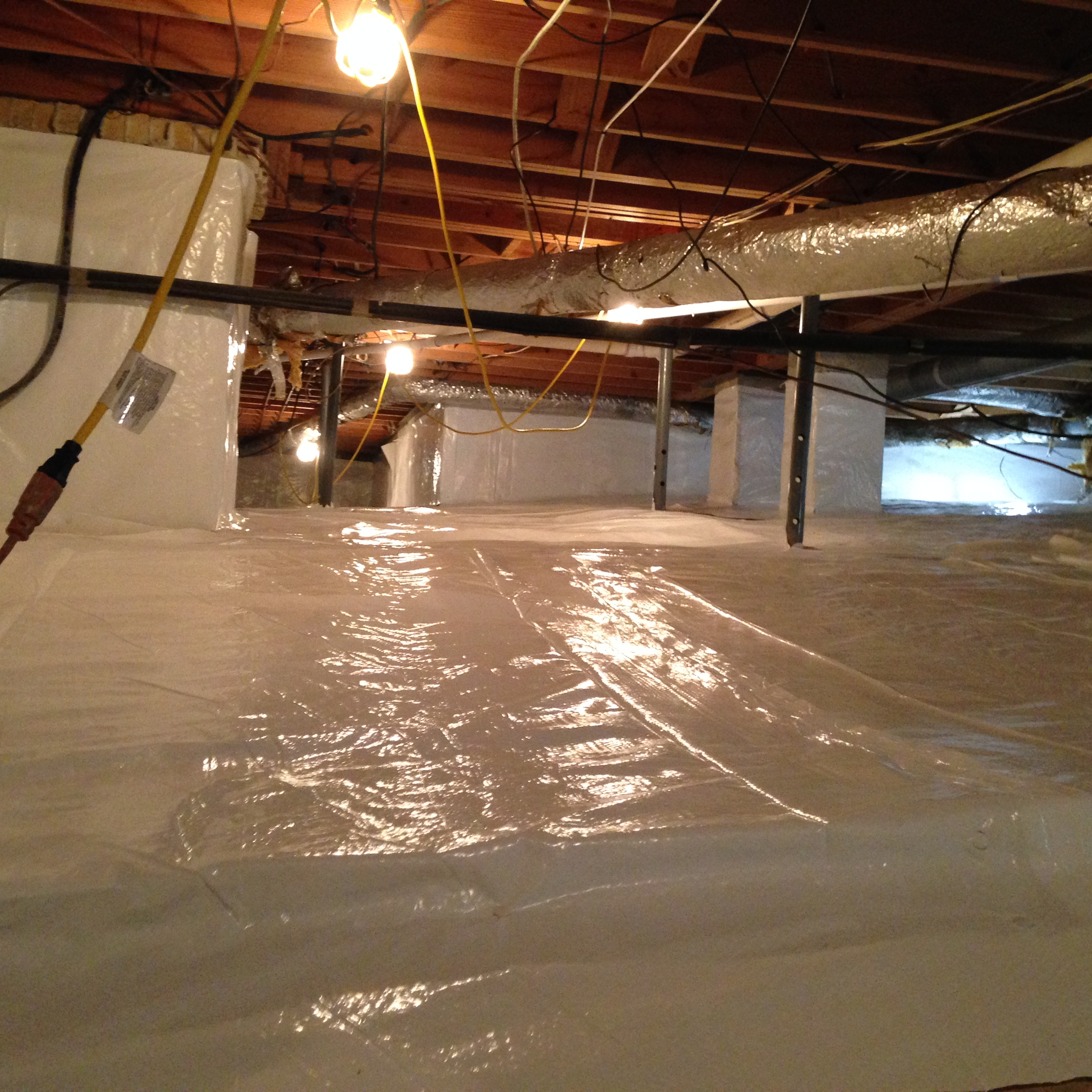 Crawl Space And Basement Waterproofing