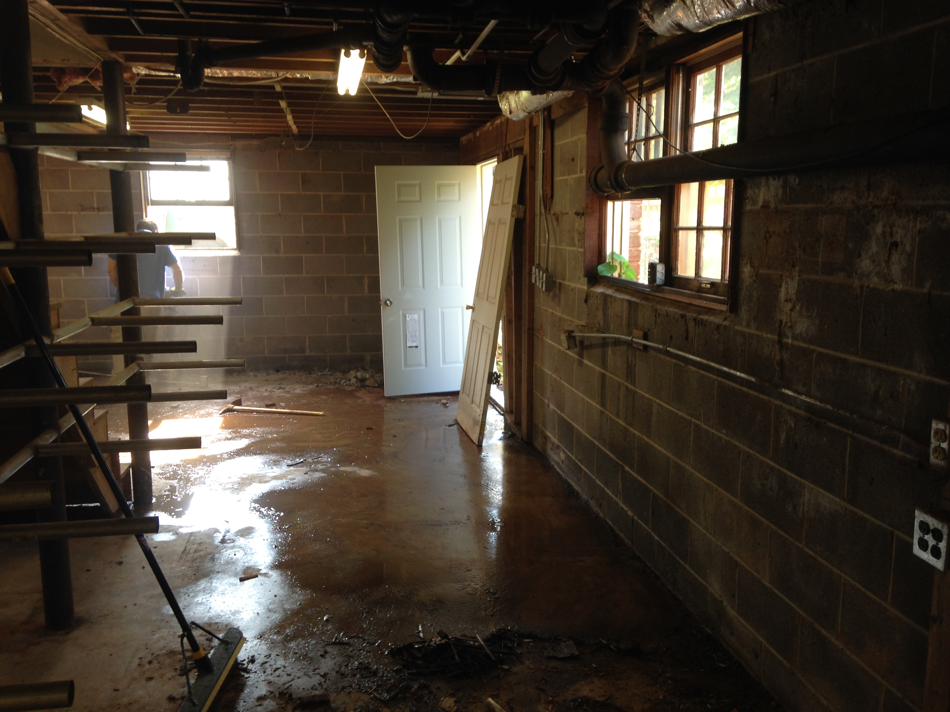 you may have a foundation water problem crawl space and basement